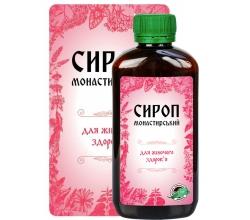 Монастырский фитосироп для женского здоровья