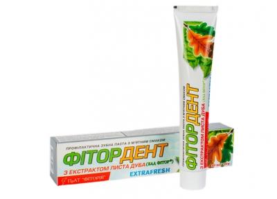 """Лечебная зубная паста """"Фитордент Экстрафреш"""""""