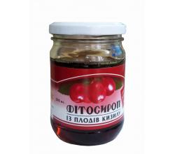 """Фитосироп """"Из плодов кизила"""""""