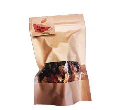 Фруктовий чай в крафтовому пакеті 80 г