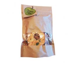 Чай яблучний в крафтовому пакеті 73 г