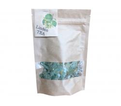 Чай липовий з пилком в крафтовому пакеті 23 г