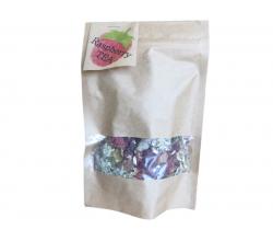 Натуральний малиновий чай в крафтовому пакеті 46 г