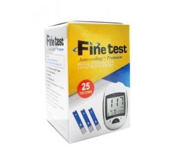 Тест - смужки до глюкометра Finetest 25 шт.