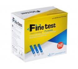 Тест - смужки до глюкометра Finetest 50 шт.