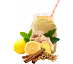Витаминный коктейль Лимон, имбирь и корица 20 г