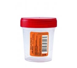 Емкость для сбора мочи URI-BOX New 120 мл, стерильная 0%