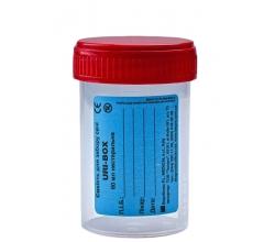 Ємкість для збору сечі URI-BOX New 60 мл, стерильна 0%