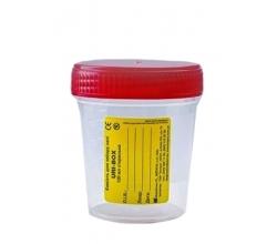 Ємкість для збору сечі URI-BOX New 120 мл, стерильна 7%