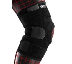 Стабілізуючий бандаж на колінний суглоб з 4 спіральними ребрами жорсткості