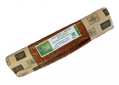 Натуральная пастила яблочная, без сахара (80 г)